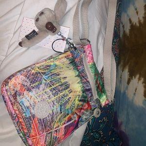 new with tags kipling adjustable strap bag